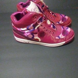 Valentine's Themed Coach Shoes